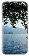 Sunshine Over An Alpine Lake IPhone Case