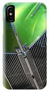 40 Ford - Grill Detail-8618 IPhone Case