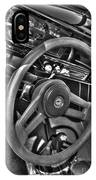 48 Chevy Convertible Interior IPhone Case