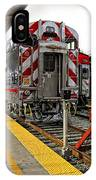 4th And King St. Caltrains Station - San Francisco IPhone Case