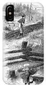 Oregon Trail Emigrants IPhone Case