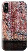 Painted Rocks At Hossa With Stone Age Paintings IPhone Case