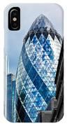 The Gherkin London IPhone Case