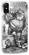 Thomas Nast: Santa Claus IPhone Case