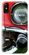 57 Chevy Left Front 8560 IPhone Case