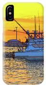 57- Sunset Cruise IPhone Case