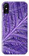 Sem Of Eastern Bluebird Feathers IPhone Case