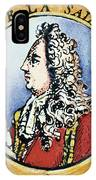 Sieur De La Salle IPhone Case