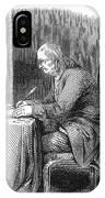 Benjamin Franklin (1706-1790) IPhone Case