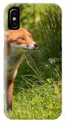 A British Red Fox IPhone X Case