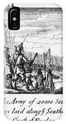 Spanish Armada, 1588 IPhone Case