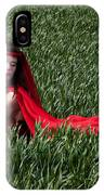 Woman In Red Series IPhone Case