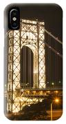George Washington Bridge IPhone Case