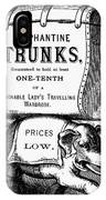 Mortised Cut, 19th Century IPhone Case