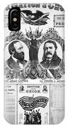 Presidential Campaign, 1880 IPhone Case