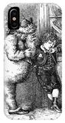 Thomas Nast: Christmas IPhone Case