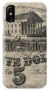 Confederate Banknote IPhone Case