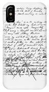 Samuel Taylor Coleridge IPhone Case
