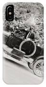 Silent Film: Automobiles IPhone Case