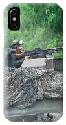 The Leopard 1a5 Main Battle Tank IPhone Case