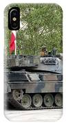 The Leopard 1a5 Of The Belgian Army IPhone Case