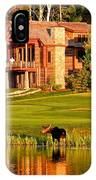 9th Hole's Occasional Water Hazard IPhone Case