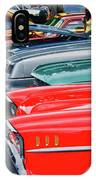 A Blast Of Color - Auto Row 7708 IPhone Case