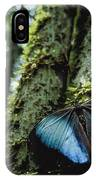 A Blue Morpho Butterfly IPhone Case