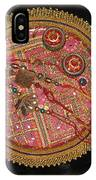 A Bowl Of Rakhis In A Decorated Dish IPhone Case