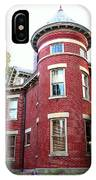 A Brick House With A Turret IPhone Case