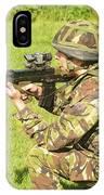 A Coldstream Guard Training In Scotland IPhone Case