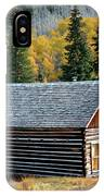 A Colorado Cabin IPhone Case