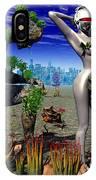 A Conceptual Idea Showing Nature IPhone Case