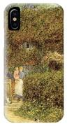 A Cottage At Freshwater Isle Of Wight IPhone Case