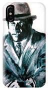 A Dapper Brit-portrait Of Ron Moody IPhone Case