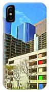 A Different Perspective On Downtown Los Angeles I IPhone Case