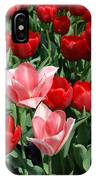 A Field Of Tulips Series 3 IPhone Case