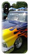 A Flaming Ride IPhone Case