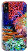 A Flash Of Life And Color IPhone Case