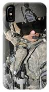 A Flight Medic Conducts A Daily IPhone Case