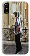 A Gondolier In Venice IPhone Case