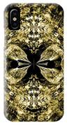 A Gothic Guise Of Gold IPhone Case