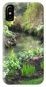 A Green And Peaceful Place  IPhone Case