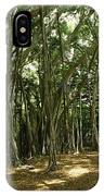A Grove Of Banyan Trees Send Airborn IPhone Case