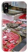 A Hong Kong Fishmonger Shop IPhone Case