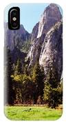 A Look Across The Meadow  IPhone Case
