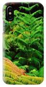 A Mass Of Ferns IPhone Case