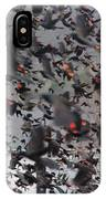 A Mob Of Red-winged Blackbirds IPhone Case