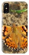 A Painted Lady Looking For Sex 8619 3369 IPhone Case