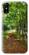 A Path Around The Pond IPhone Case